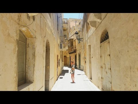 MALTA VLOG 2016: Sightseeing Bus to the City of Valetta