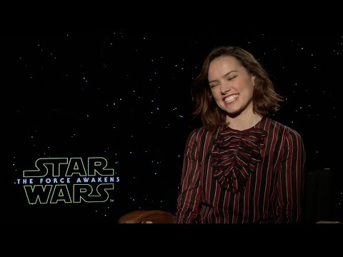 Daisy Ridley Interview - Star Wars: The Force Awakens