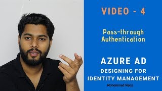 Azure AD Pass-through Authentication | Seamless Single Sign-On | Identity & Access management V 4