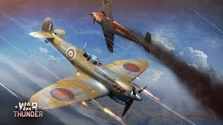 War Thunder Gameplay Multiplayer - Spitfire MK1 Killing Machine (Arcade Battle)