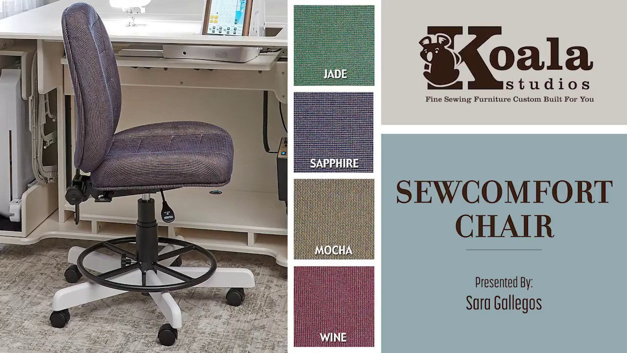 Koala Studios The Sewcomfort Chair Youtube
