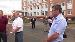 Глава КЧР Рашид Темрезов проинспектировал строительство онкоцентра в Черкесске