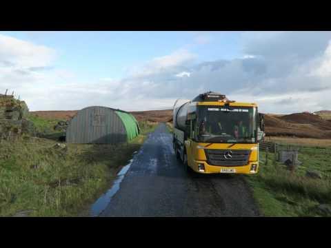 Trucking on North Uist