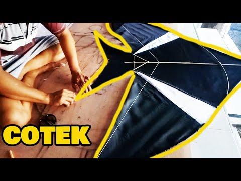 Cara Membuat Layangan Cotek | Rareangon Bali