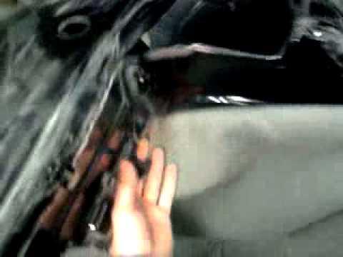 ремонт бампера Lexus до ремонта