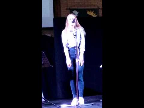 Sam Smith, Writing on the wall performed by Lucy Blount