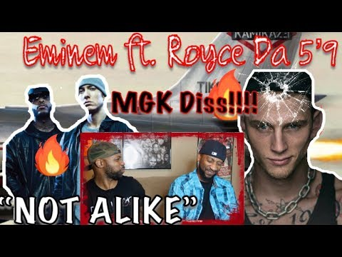 DADS REACT | NOT ALIKE x EMINEM ft ROYCE DA 5'9