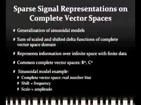 Google Science Fair: Foundational Algorithms for Music Analysis