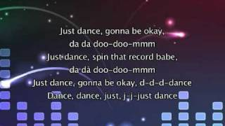 Lady Gaga ft Colby O Donis - Just dance [with lyrics]