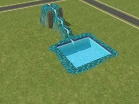 How to make a Sims 2 Water Slide (For begginers!) - YouTube