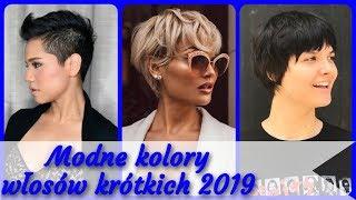Top 20 💓 modne kolory włosów krótkich 2019