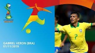 Veron v Angola [GOAL OF THE TOURNAMENT] - FIFA U17 World Cup 2019 ™