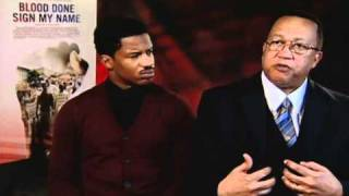 Blood Done Sign My Name - Exclusive: Nate Parker and Dr. Ben Chavis Interview