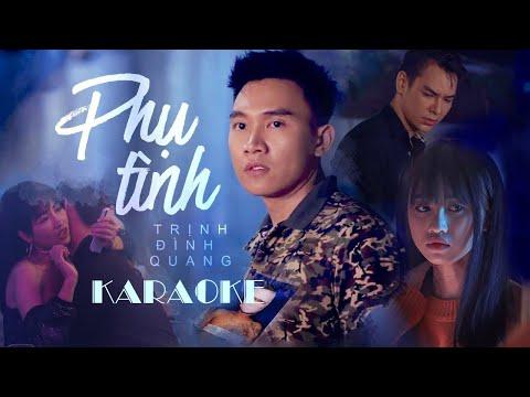 Phụ Tình - Trịnh Đình Quang | Karaoke Beat Gốc