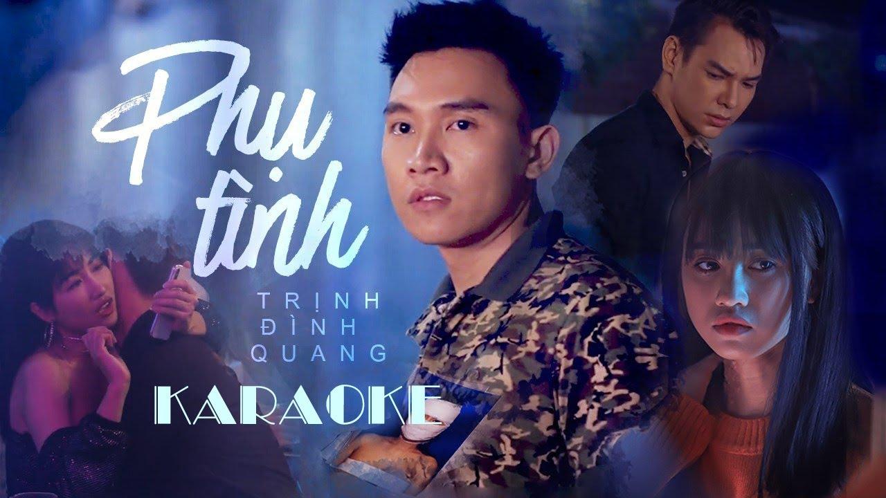 Phụ Tình – Trịnh Đình Quang | Karaoke Beat Gốc