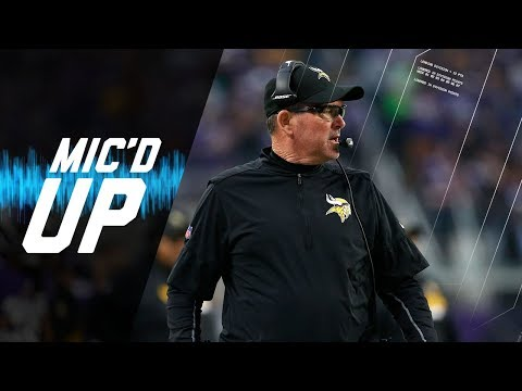 Mike Zimmer Mic'd Up Against Good Friend Marvin Lewis | NFL Sound FX