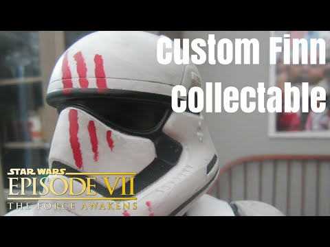 Custom Finn Stormtrooper Collectable - The Force Awakens