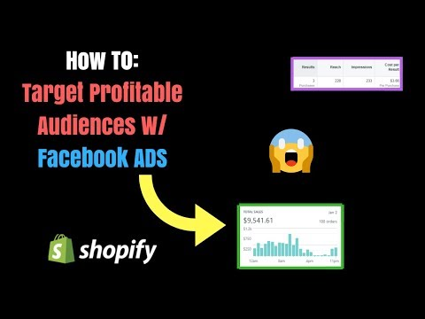 ** Facebook ADS Strategy ** How To Target Profitable Audiences For Product Testing