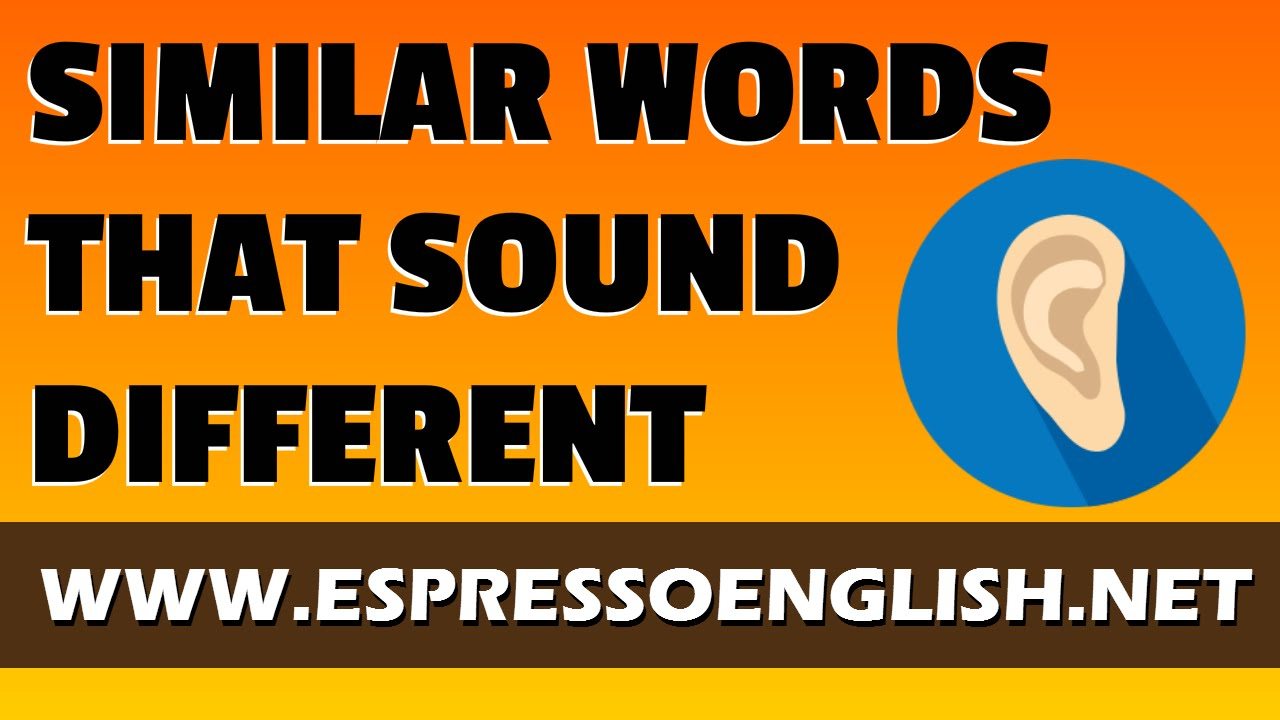 English Pronunciation: Words that Look Similar but Sound Different
