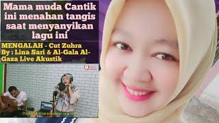 Download Mama Muda Cantik ini Menahan Tangis Saat Menyanyikan Lagu ini || MENGALAH By:Lina Sari Live Akustik