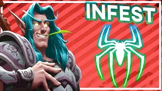 Hearthstone: Huge Spider Infestation