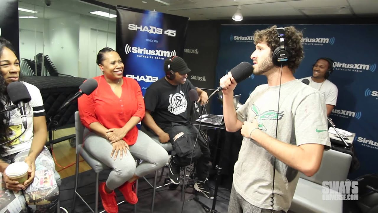 """Download Lil Dicky Performs """"Lemme Freak"""" in Heather B and Tracy G Lap Live In Studio for Concert Series"""