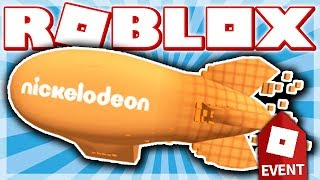 HOW TO GET THE BLIMP TROPHY!! (ROBLOX NICKELODEON KIDS' CHOICE AWARDS EVENT - Escape Room: Theater!)