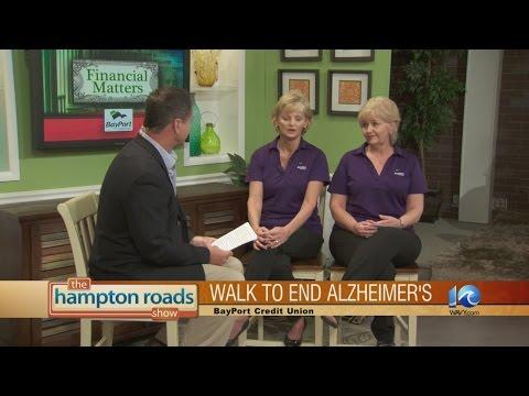 Peninsula Walk to Prevent Alzheimer's sponsored by BayPort Credit Union.