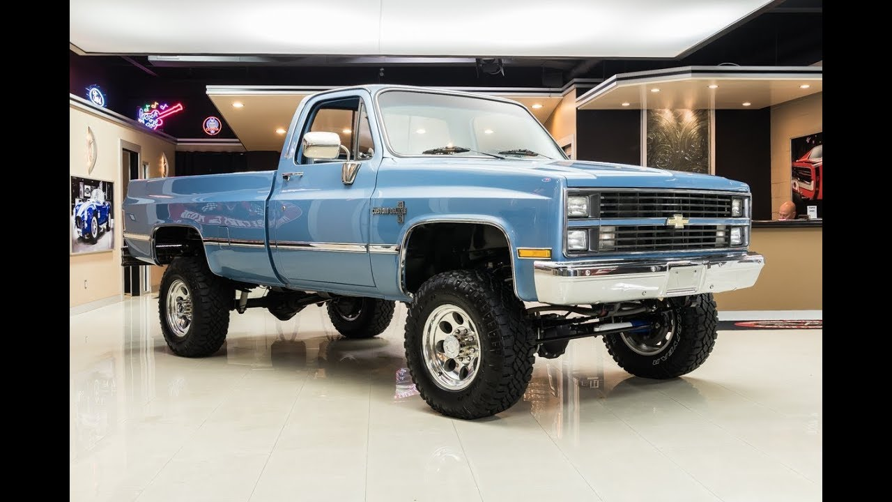 1984 Chevrolet K20 Pickup For Sale