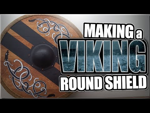 Making a Viking Round Shield