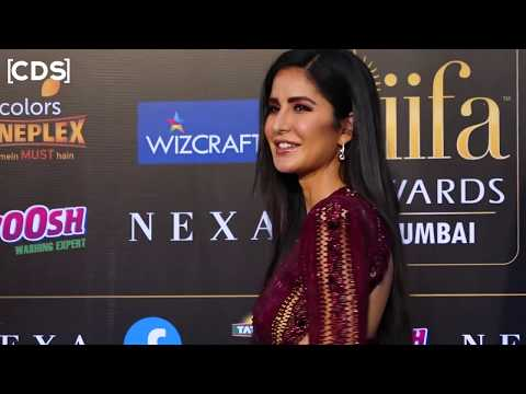 Katrina Kaif H0T 0PEN Dress At IIFA Awards 2019 Red Carpet