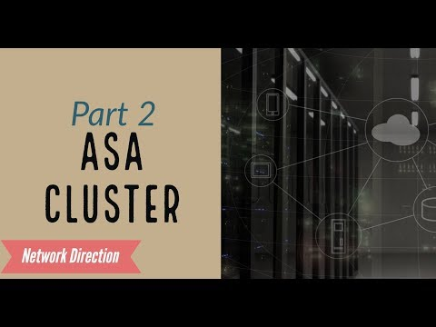 ASA Firewalls | High Availability with Clustering