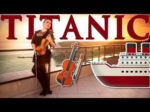 TITANIC🚢 My Heart Will Go On - Céline Dion (Violin Cover Cristina Kiseleff) 🎻🌊