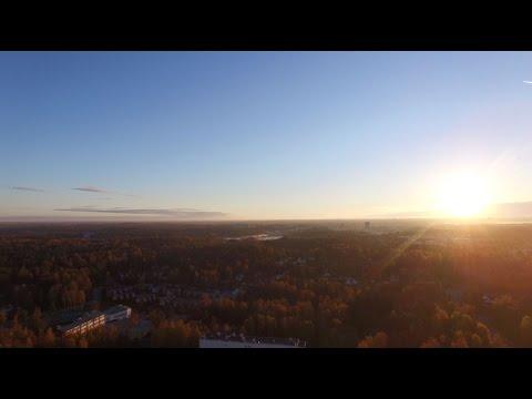 Down time + DJI Phantom Helsinki