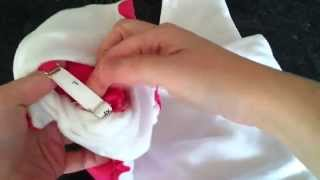 Pea Pods One Size Reusable Nappy Demonstration