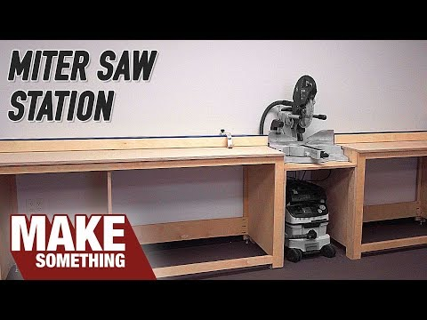 Simple Miter Station Build. Easy Shop Project!
