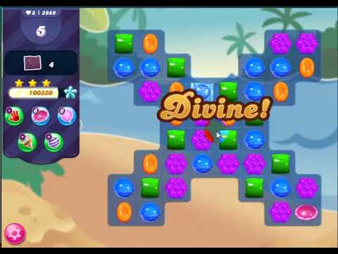 Download Candy Crush Saga level 2989(NO BOOSTERS, 12 MOVES)WATCH IT TO WIN