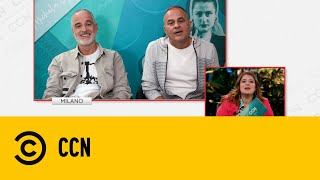 Intervista alla Gialappa's Band - CCN Comedy Central News con Michela Giraud