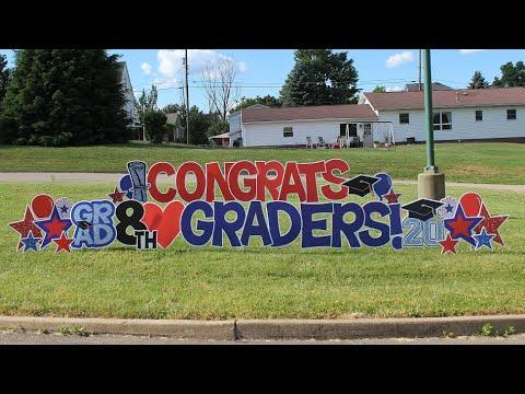 Laurel Highlands Middle School Hawaiian Graduation Ceremony CLASS OF 2024