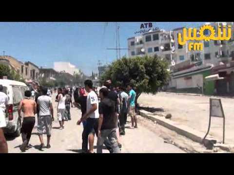 Douar Hicher : Affrontements et tentative d'attaque d'un poste de police
