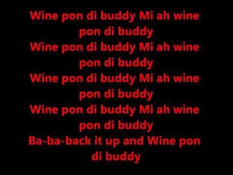 Cham   Wine pon di buddy lyrics @ACE