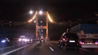 15 Temmuz Şehitler Köprüsü Muhteşem Gece Görüntsü Adım Adım SılaYolu Ekibi Yollarda
