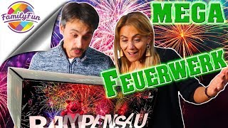 XXL SILVESTER FEUERWERK Pyroland shopping - Megaparty bei Family Fun 2018