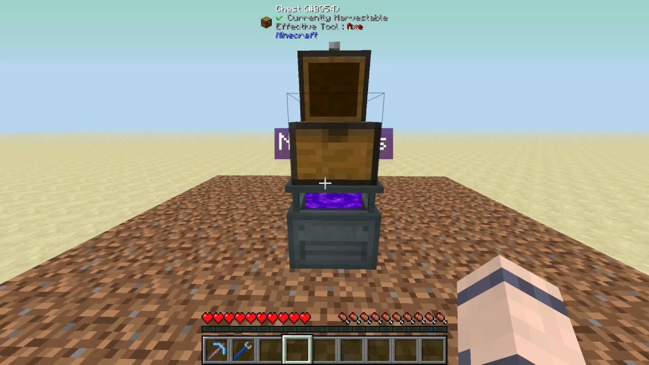 EnderIO - Farming Station/Basic Tree Farm - Minecraft