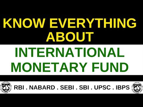 What is International Monetary Fund?