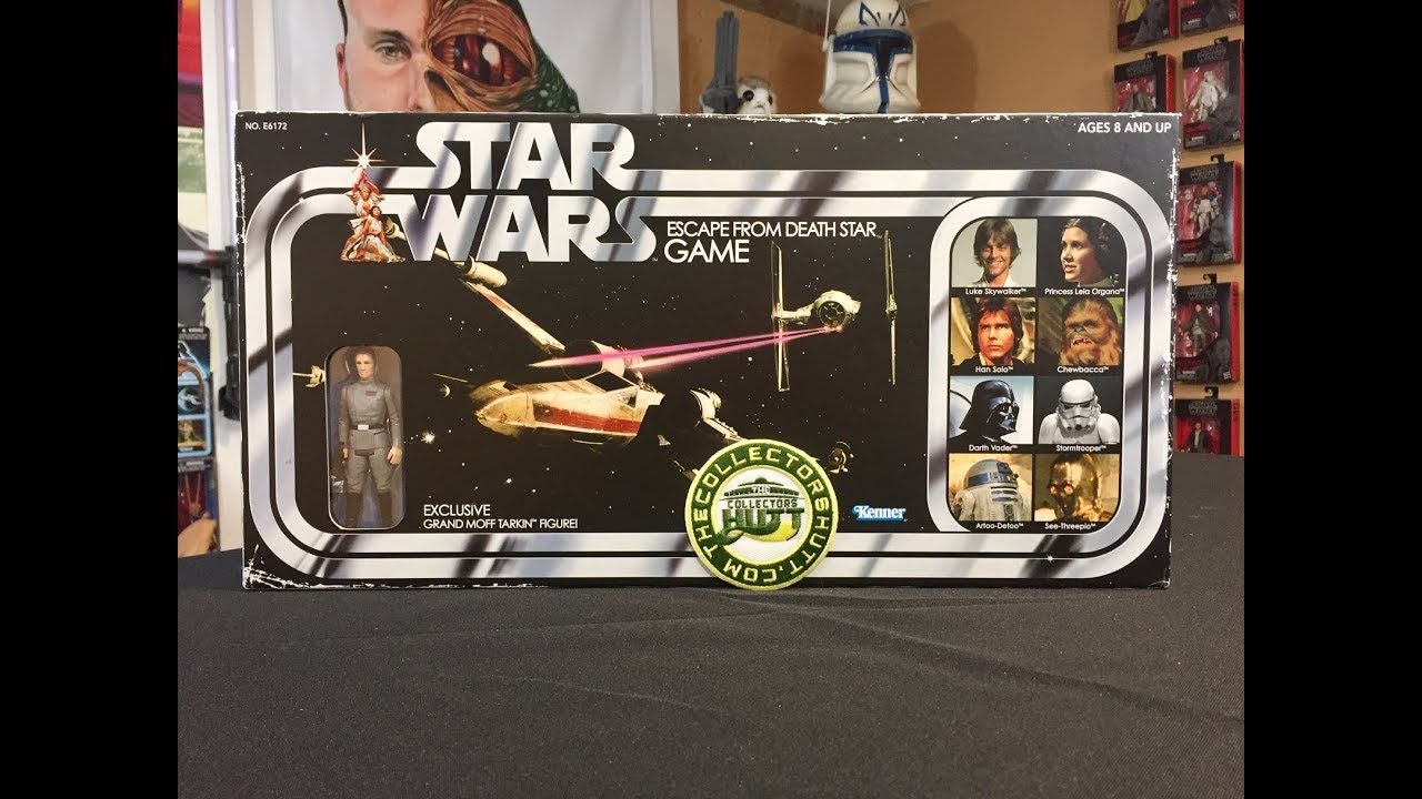 RETRO COLLECTION GRAND MOFF TARKIN figurine Star Wars Escape from death star game