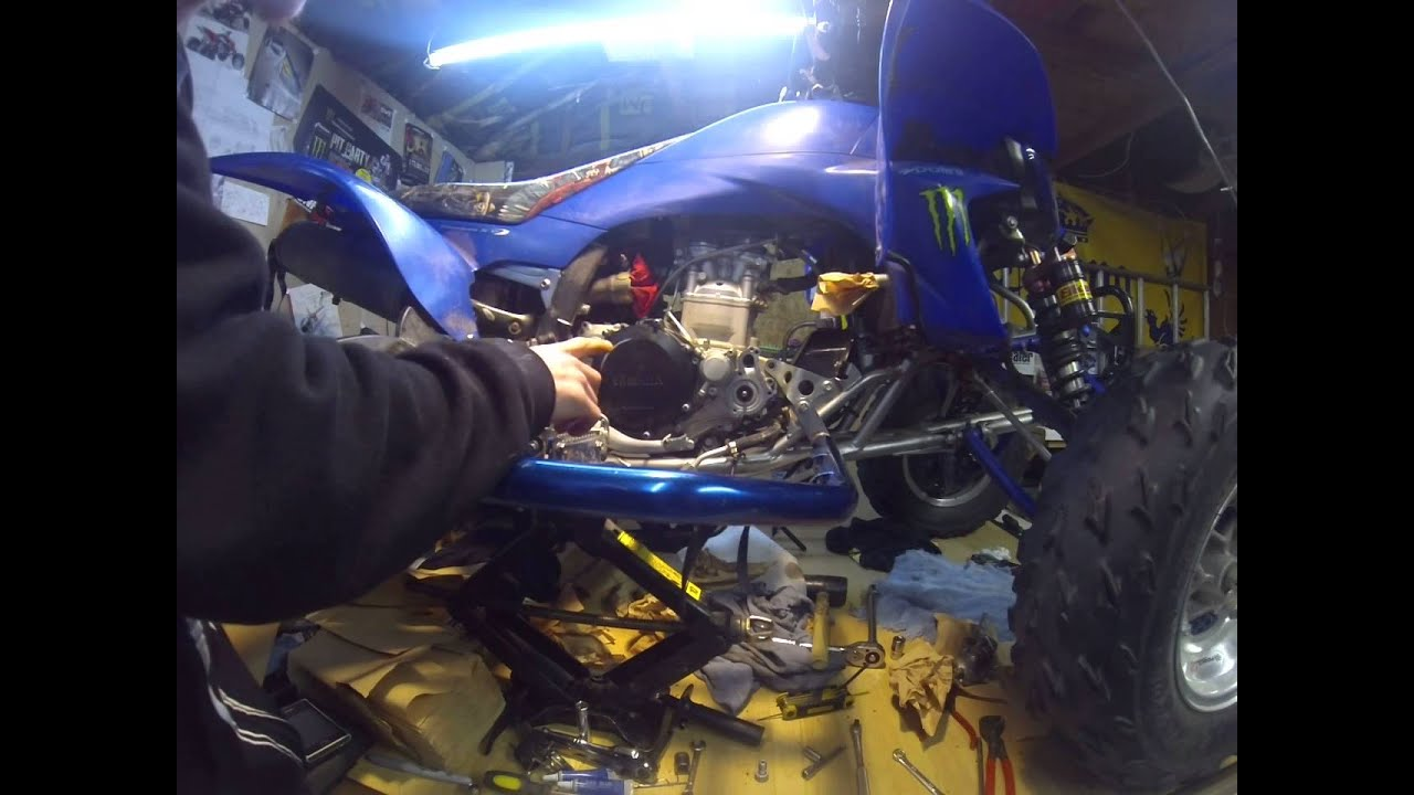 How to redo your water pump on a 08 YFZ450 and other YFZ450 by Amanda  Corliss
