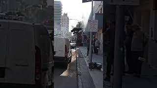 Explosión en una joyería de Bell Ville: una mujer resultó herida 2