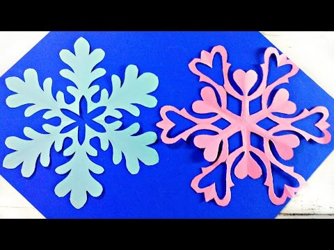 Origami Snowflake Frozen Easy Paper Tutorial Instructions New Year Christmas Diy Paper S