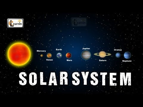 Planets in our solar system | Sun and solar system | Solar System for children | 8 planets elearnin